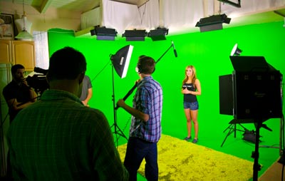 The professional production team at Dume Studios can handle all film, video and audio production needs.
